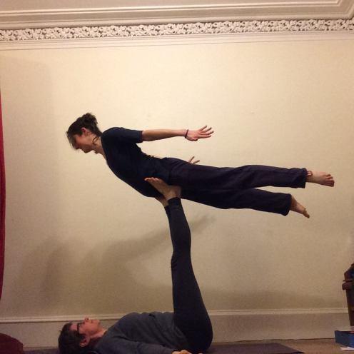 Penny & Morgan - Yoga Pose